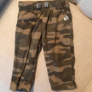 Other - Carters 9 month camo fleece pants
